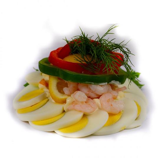 Æg og rejer